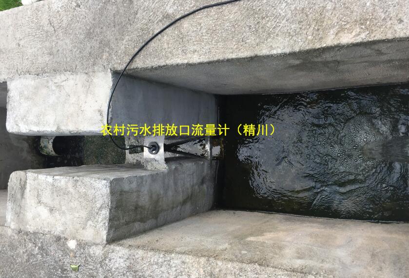 排放口污水流量计