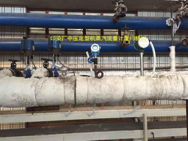 印染厂定型机蒸汽流量计